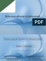 Sélection Adverse Et Aléa Moral