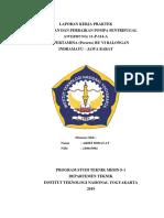 Laporan Kerja Praktek Perawatan dan Perbaikan Pompa sentrifugal di PT Pertamina (persero) RU VI Balongan Indramayu