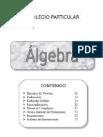 5 Algebra 5to - II  LIBRO.doc