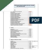 Listado de Documentos