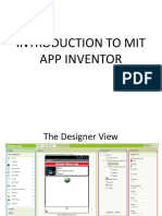 intro. to mit app inventor