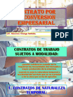 contrato por reconversion empresarial -peru