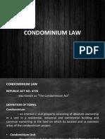Condominium Law