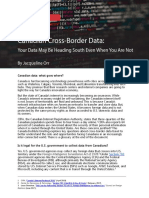 Canadian Cross-Border Data Report