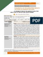 REABILITAÇÃO FISIOTERAPÊUTICA NO PÓS-OPERATÓRIO IMEDIATO E TARDIO DE LESÕES DO MANGUITO ROTADOR