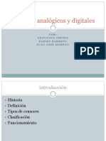 Sensores Analógicos y Digitales