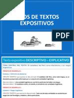 2018-2 Tipos de Textos Expositivos