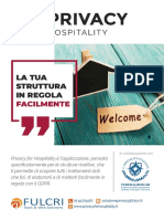 Privacy For Hospitality - Strutture ricettive - Alberghi