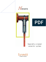 Separable Screened Connector Systems