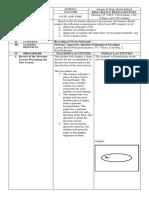 Sample Lesson Plan EPP 6 - Ignatian Pedagogical Paradigm