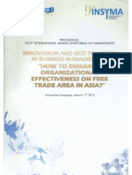 how to enhance organizational effectiveness in free trade area in asia