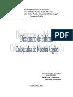 Trabajo - Diccionario de Palabras coloquiales.docx