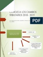 CONOZCA LOS CAMBIOS TRIBUTARIOS 2018 - 2019.pptx