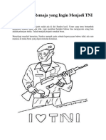 Cerita Para Remaja Yang Ingin Menjadi TNI