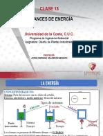 CLASE 13 - BALANCES DE ENERGÍA.pdf