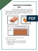 Ejercicio Aplicativo en La Ingeniería Civil
