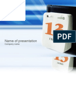 Office Ppt Template 037
