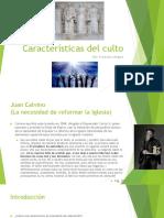 LITURGIA 2 CARACTERISTICAS DEL CULTO.ppt