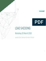 Presentation Load Shedding Workshop