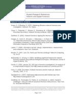 Forensic Computing References