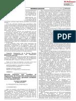 D.S. N° 008-2019-MTC -Modif. Regl. d Protec. Amb. pa S. Transporte, aprob. x D.S. 004-2017-MTC- Pub.09.03.19