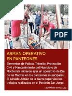 10-05-19 Arman operativo en panteones