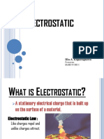 B ELECTROSTATIC REPORT.ppt