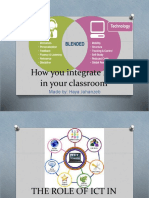 How to integrate ict