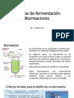 SISTEMAS DE FERMENTACIÓN-BIORREACTORES-BIOPROCESOS UNAC