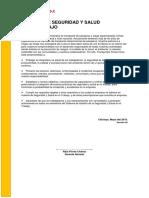 POLITICA  Y ESTANDARES SST.docx