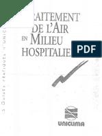 Tratarea aerului in spitale (normativ francez)