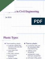 Polymer in Civil Engineering