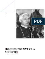 Benedicto Xvi y La Muerte 1