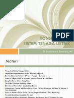 2. Konsep Dasar Sistem Tenaga Listrik