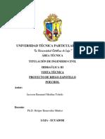 Informe Visita Técnica Zapotillo Poechos
