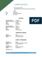 Curriculum Vitae 110419