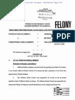 USA v Roberts Doc 1 Indictment