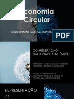 Apresentação do especialista em Sustentabilidade na Confederação Nacional da Indústria (CNI), Sérgio Monforte.