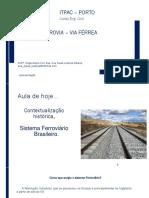 Aula 01 Ferrovia – via Ferrea