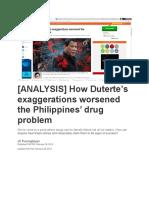 ANALYSIS Duterte Jan 2019