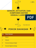Tugas 1 Sensor, Aktuator