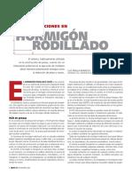 Hormigon Rodillado