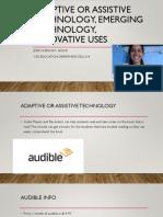 adaptive technology presentation