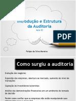 Aula 02 - Introduc807a771o - Estrutura Da Auditoria