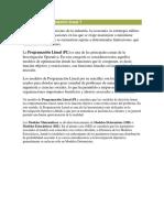 La Programacic3b3n Lineal