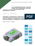 Manual de variador de velocidad WEG VECTOR
