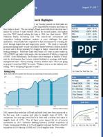 August 25, 201 7 - Weekly Market Update