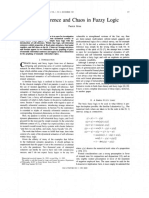 Self-reference and Chaos in Fuzzy Logic