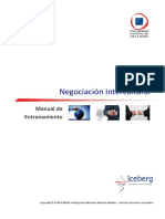 Manual de entrenamiento en Negociación Intercultural