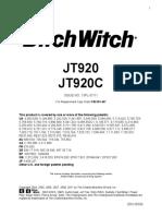 JT920  JT920C Parts Manual 053-467.pdf